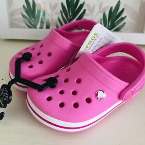 Crocs Toddler Girl Size 6 NWT CROCS CLOG GIRLS TODDLER
