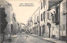 CPA 71 MARCIGNY RUE DE BORCHAMP (cliché pas courant