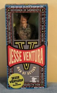 1999 Jesse Ventura Navy Seal Man of Action fully Articulated Figure Governor