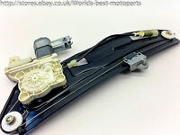 BMW E65 E66 730d FL (2I) 7 SERIES Left Rear Window Regulator & Motor 7138863