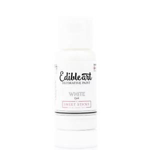 White Edible Art Paint 15ml  - AUS Made by Sweet Sticks