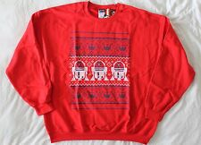 "Star Wars XL 48"" to 50"" Red R2-D2 Print Crew Neck Christmas Jumper Sweatshirt"