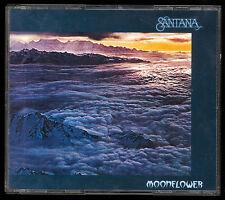 CARLOS SANTANA BAND MOONFLOWER 2 CD BOX SET MADE IN USA CD AMAZING LIVE MUSIC