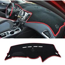 Dashboard Dash Mat DashMat Sun Cover Pad Red For Chevrolet Cruze 2016 2017