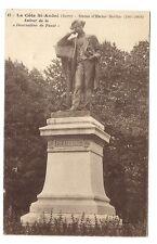 """la côte-st-andré  statue d'hector berlioz ,auteur de la """"damnation de faust"""""""