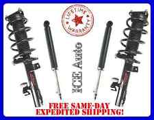 FCS Loaded Front Quick Struts & Rear Shocks for 08-12 Chevy Malibu (ALL Engines)