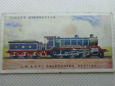 WILLS's CIGARETTE CARD VINTAGE RAILWAY ENGINES, L.&M S R CALEDONIAN SECTION