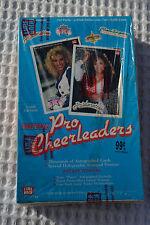 SEALED 1992 Lime Rock Pro Cheerleader Football Trading Cards Full Box