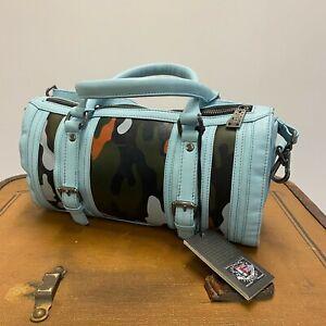 Grandprix Originals Camouflage Handtasche Leder reg. VK-Preis 169,- Euro