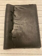 Handmade Black Leather B6 Travelers Notebook