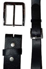 Men's Belt, (XL) Solid Leather Belt. Men's Black Casual Leather belt, New belt