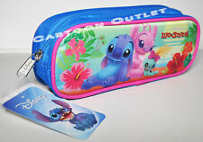 LILO AND STITCH PENCIL PEN BAG CASE POUCH COSMETIC DISNEY BAG LILO & STITCH GIFT