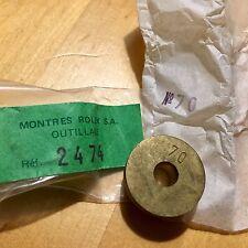 Rolex Vintage DIE Strumento Lunetta premere # 70 Datejust OYSTERDATE Antico muore 2474