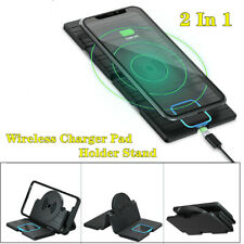 Car Wireless Charging Cradles Silica gel Non-slip Pad Phone Navigation Bracket