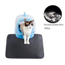 US Cat litter Mat - Double Layer Pad - Waterproof Foldable Pad Pet Rug EVA Foam-