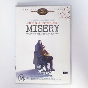 Misery Movie DVD Region 4 AUS Free Postage - Thriller Stephen King