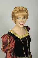 Perruque de femme médiévale rousse Princesse du Moyen costume show deguisement