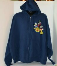 Disney Theme Park Cast Member Exclusive Collection Full Zip Hoodie Jacket 3XL