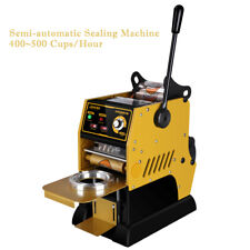 Semi-Automatic Cup Sealing Machine Cup Sealer Bubble Tea Coffee 400-500Cups/h