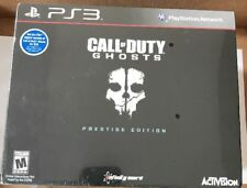 PS3 Call of Duty: Ghosts Prestige Edition New Sealed (Sony PlayStation 3, 2013)