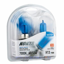 Nokya H13 Arctic White Stage 1 Headlight Halogen Light Bulb - Chevy Low beam