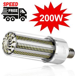 Super Bright LED E27 Corn Bulb 25W-200W Lamp 110V 220V Smart IC E39 E4 Big Power