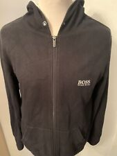 Mens Smart Black Hugo Boss Hudded Jacket/Top *UK Size Large*