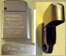 Cigarette Lighter Storm King brand for Fishing World Magazine