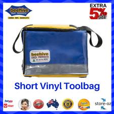 Beehive Short Vinyl Carry Toolbag Heavy Duty Reflective PVC Ripstop Vinyl