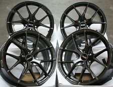 "Alloy Wheels 18"" GTO For Subaru Impreza 2.0 WRX STi AWD 5x114 GM"