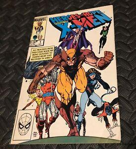 HEROES FOR HOPE STARRING THE X-MEN #1 1985 MARVEL COMICS Wolverine Stephen King