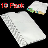 10  x RFID Secure Sleeve Credit Card Holder Blocking Protector Anti Theft Case
