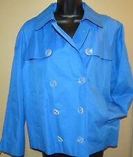 NWT - Women's L EXPRESS Blue Lightweight Jacket