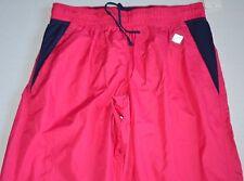 Womens EVERLAST SPORT GYM YOGA Pink WORKOUT Jogging TRACK WIND PANTS size L
