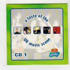 (FZ352) A Taste of the UK Music Scene, 5 tracks various artists - 1999 CD