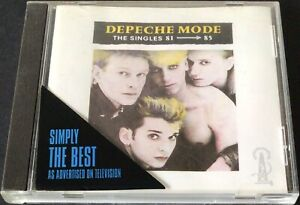 Depeche Mode - The Singles 81-85 - CD - Very Good Condition - Free Post