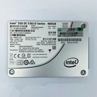 HP S3610 480GB 804612-006 2.5'' SFF SATA 6G MLC SSD Solid State Drive 832419-001