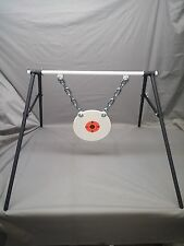 AR500 STEEL 3/8''X10'' Gong Target Stand  Rifle Pistol Shooting Metal  Rang