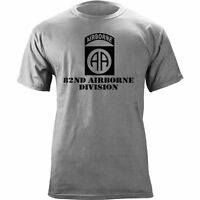 US Army 82nd Airborne Division All Americans Veteran Subdued T-Shirt