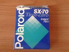 cartucho Polaroid  SX - 70 Time Zero (10 fotos)