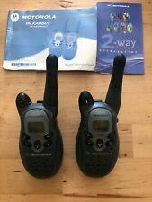 Motorola Talkabout T5300 Walkie Talkie 2-Way Radio Set Tested & Working