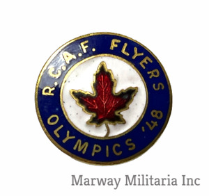 1948 RCAF Flyers Hockey Team Olympic Pin (inv 22614)