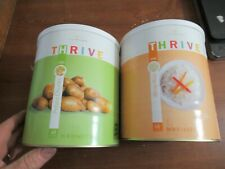 2 CANS OF RELIANCE THRIVE CANNED FOOD RICE & POTATO CHUNKS