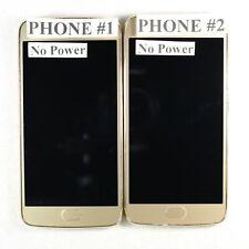 Lot of 2 Motorola Moto G5 Plus Gold Asis For Parts/Repair MotoG5Plus-Lot2-Gld