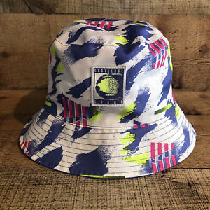 NIKE NIKECOURT ALL-OVER-PRINT REVERSIBLE BUCKET HAT (SAPPHIRE) CW6429-500 S M