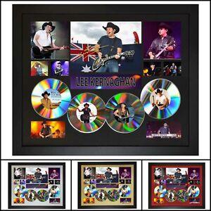Lee Kernaghan 4CD Signed Framed Memorabilia Limited Ed - Multiple Variations