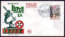 MONACO FDC - 552 1 - ORDRE DE MALTE LUTTE CONTRE LA LEPRE - 3 Juin 1961 - LUXE