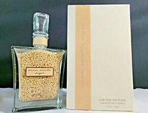 Bath & Body Works Warm Vanilla Sugar Limited Edition Luminous Bath Pearls 6.3 OZ