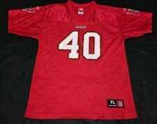 Reebok NFL Mike Alstott Tampa Bay Buccaneers Jersey Size 18-20 Youth XL