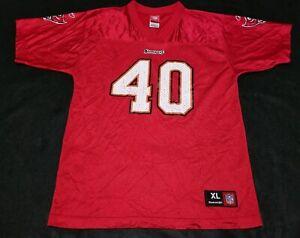 Reebok NFL Mike Alstott Tampa Bay Buccaneers Jersey Size 18-20 Youth XL